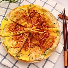 #餐桌上的春日限定# 鸡蛋酱香饼