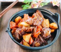 土豆炖羊排的做法