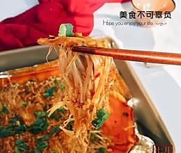 山东蒜蓉金针菇+#蔚爱边吃边旅游#的做法