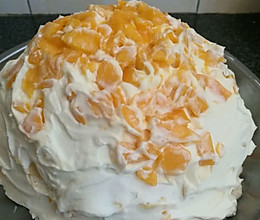 千层芒果蛋糕的做法