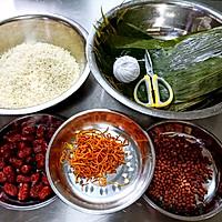 养生虫草小米粽 龙眼红枣赤豆粽