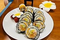 #餐桌上的春日限定#紫菜包饭寿司卷的做法