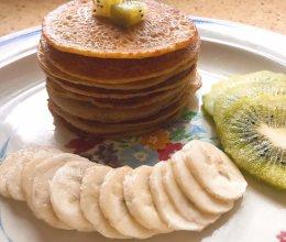 松松软软的香蕉松饼~的做法