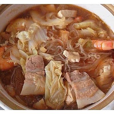 大白菜五花肉豆腐