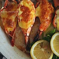 柠檬香烤芝士大虾的做法图解6