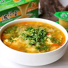 蔬菜汤#浓汤宝火锅英雄争霸赛#