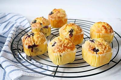 金宝顶蓝莓酥粒马芬