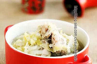 排骨酸菜粉丝汤