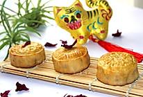 自制豆沙蛋黄月饼#手作月饼#的做法