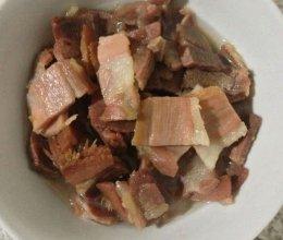 清蒸腊肉的做法