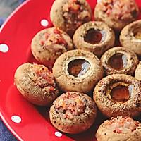 圆鼓鼓的口蘑烤着超好吃,还有两种吃法哟