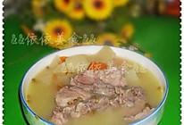 沙葛绿豆脊骨汤的做法