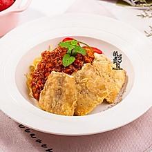 #520,美食撩动TA的心!#法式香煎龙利鱼意面