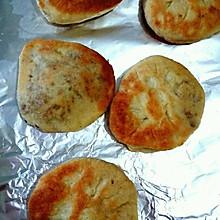 梅菜肉沫馅饼