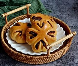 一次发酵!四叶草夹心面包,简单又好吃!的做法