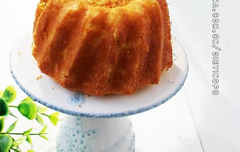 蛋黄海绵蛋糕的做法