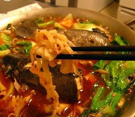 """简易的""""大菜""""——水煮鳟鱼涮百叶"""