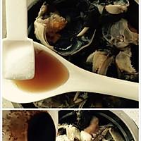 鲜咸蟹粥的做法图解4