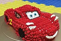 红色跑车(闪电麦坤)—汽车生日蛋糕/卡通蛋糕的做法