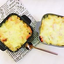 芝士肉丝土豆焗饭