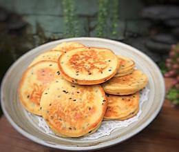 #换着花样吃早餐#黄豆鸡蛋早餐饼的做法