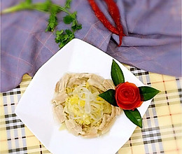 东北酸菜猪肉炖粉条#蔚爱边吃边旅游#的做法