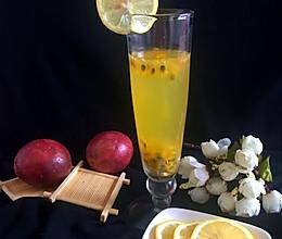 柠香百香果蜂蜜饮的做法