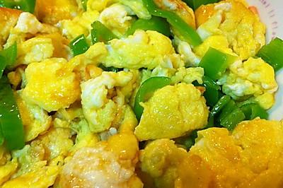 尖椒炒鸡蛋