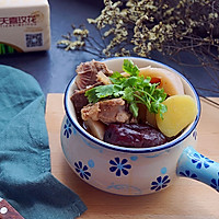 猪尾骨莲藕汤的做法图解11