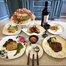 分餐制下的生日宴
