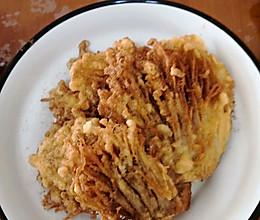 干炸金针菇的做法