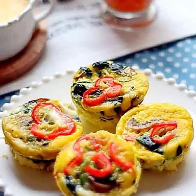 蔬菜肉蛋饼