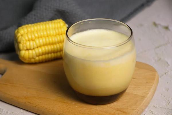 玉米汁-格瑞美厨GOURMETmaxx一体机的做法