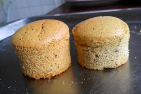 抹茶小蛋糕的做法