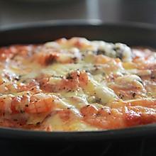 8寸鲜虾培根芝士披萨