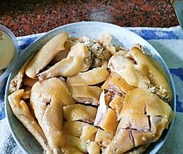 电饭锅盐焗鸡和鸡蛋的做法