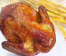金鸡迎春,新年第一烤,比肯德基还要好吃的烤全鸡的做法