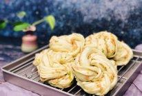 不用配菜吃的香葱火腿花卷的做法