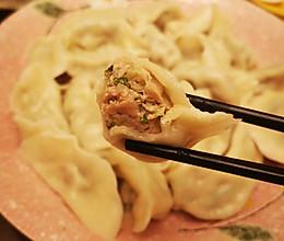 鲜嫩多汁的白菜猪肉馅儿饺子的做法