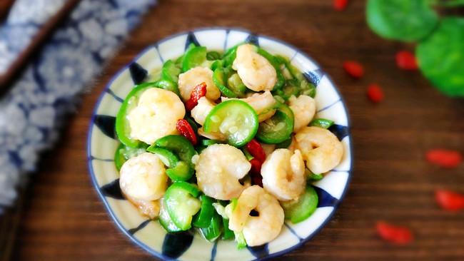 #甜粽VS咸粽,你是哪一党?#丝瓜炒虾仁的做法