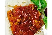 意大利面+红酱的做法