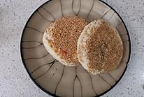 椒盐芝麻烧饼的做法