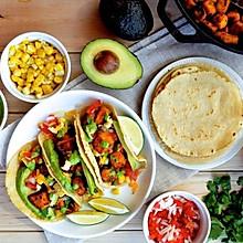脆皮豆腐素塔可 | 高营养低脂肪,食域家独创的素食美味