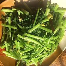 快手菜素炒茼蒿