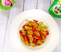#一勺葱伴侣,成就招牌美味#比肉还好吃的酱香焖烧茭白的做法
