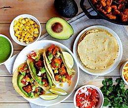 脆皮豆腐素塔可 | 高营养低脂肪,食域家独创的素食美味的做法