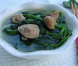 菠菜&豆苗瘦肉汤的做法
