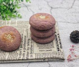 日式紫薯糯米面包的做法