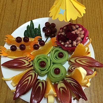 水果拼盘 蔬果拼盘