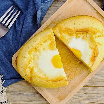 韩国街头鸡蛋面包   太阳猫早餐